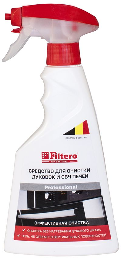 Filtero средство для чистки духовок и СВЧ-печей, 500 мл цена и фото