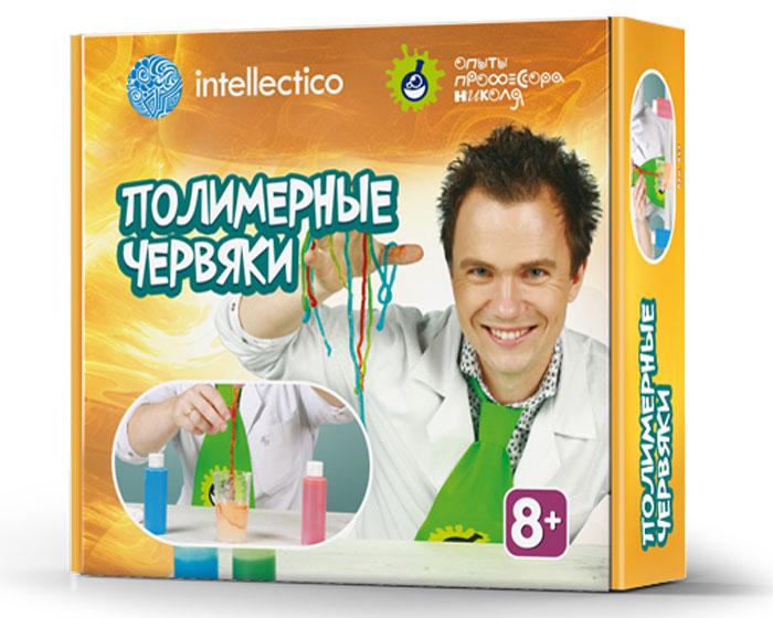 Intellectico Набор для опытов и экспериментов Полимерные червяки