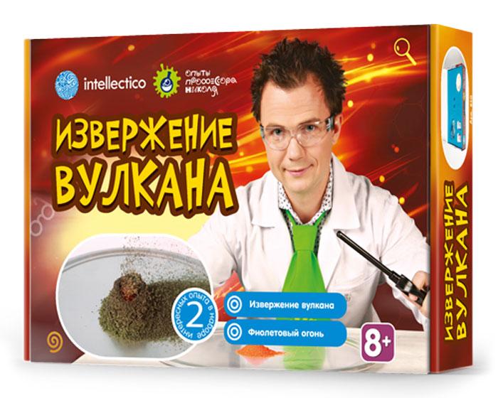 Intellectico Набор для опытов и экспериментов Извержение вулкана