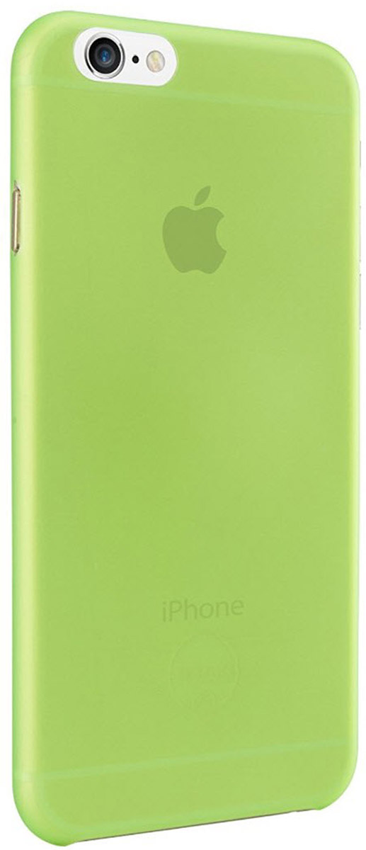 Ozaki O!coat 0.3 Jelly Case чехол для iPhone 6, Green чехол книжка 450110 samsung galaxy s4 ozaki o coat original worldpass в виде обложки от паспорта африка