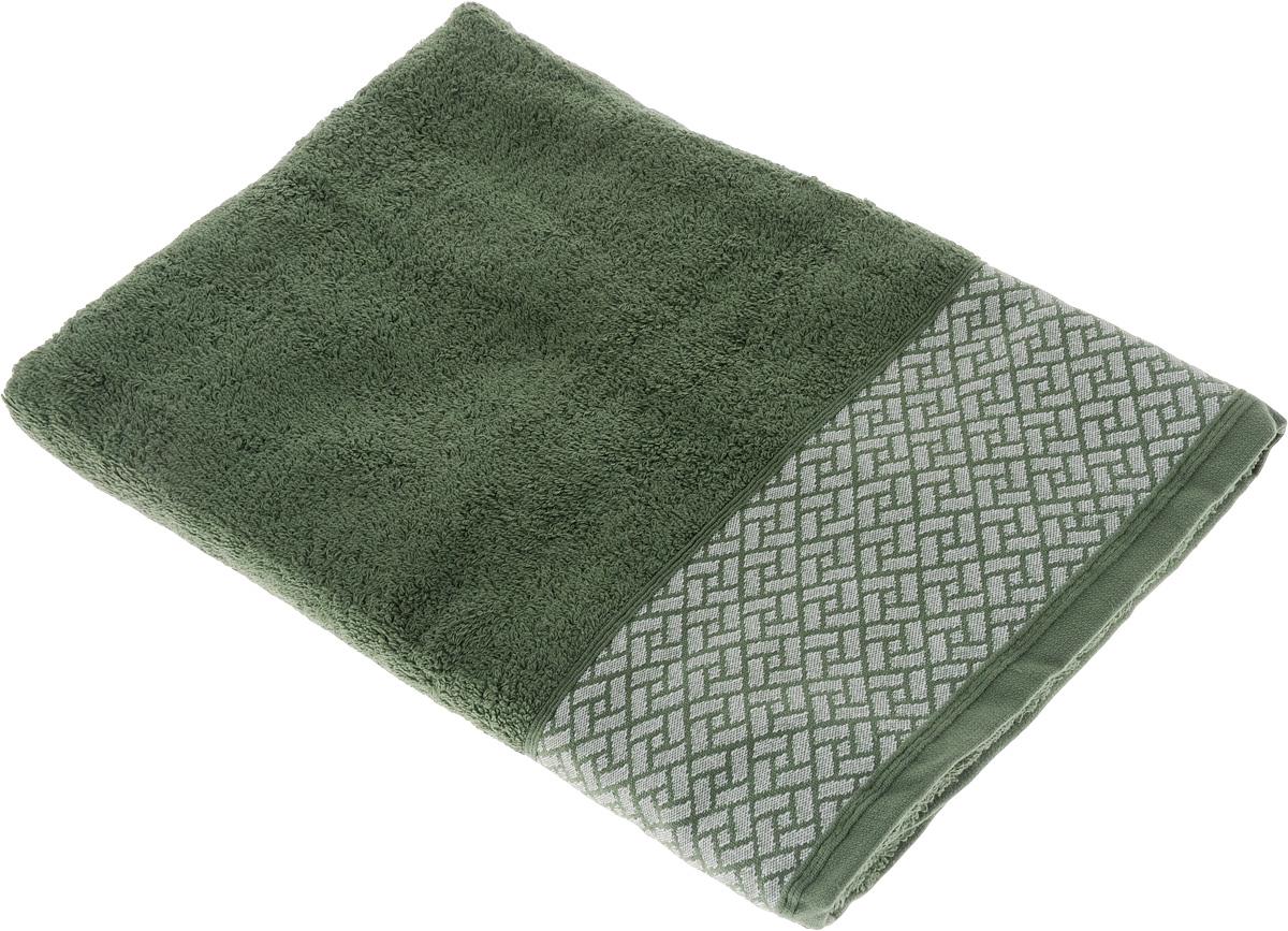 Фото - Полотенце Tete-a-Tete Лабиринт, цвет: зеленый, 50 х 90 см. УП-009 набор полотенец tete a tete лабиринт цвет зеленый 50 х 90 см 2 шт уп 009