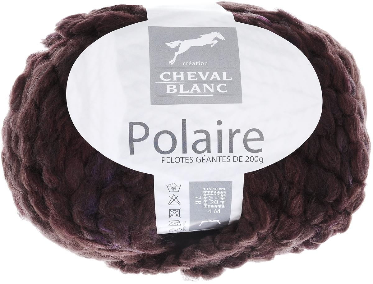 Пряжа для вязания Cheval Blanc Polaire, цвет: коричневый, бордовый, фиолетовый (050), 44 м, 200 г club cheval club cheval discipline 2 lp