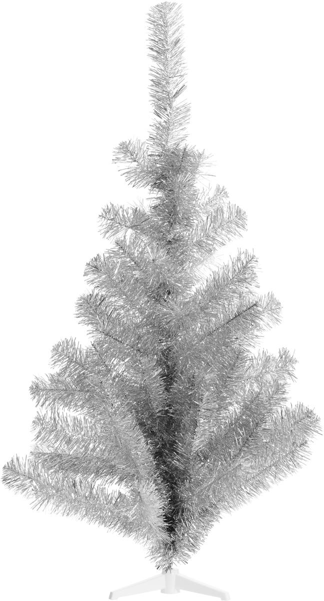 Ель искусственная Morozco Северное сияние, цвет: серебристый, высота 100 см ель искусственная morozco настольная цвет серебристый высота 30 см
