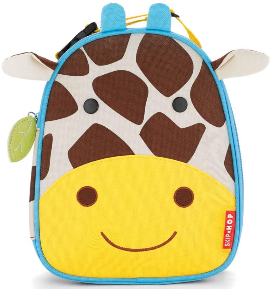 Сумочка для ланч-бокса детская Skip Hop Жираф, Текстиль сумочка для ланч бокса детская skip hop божья коровка