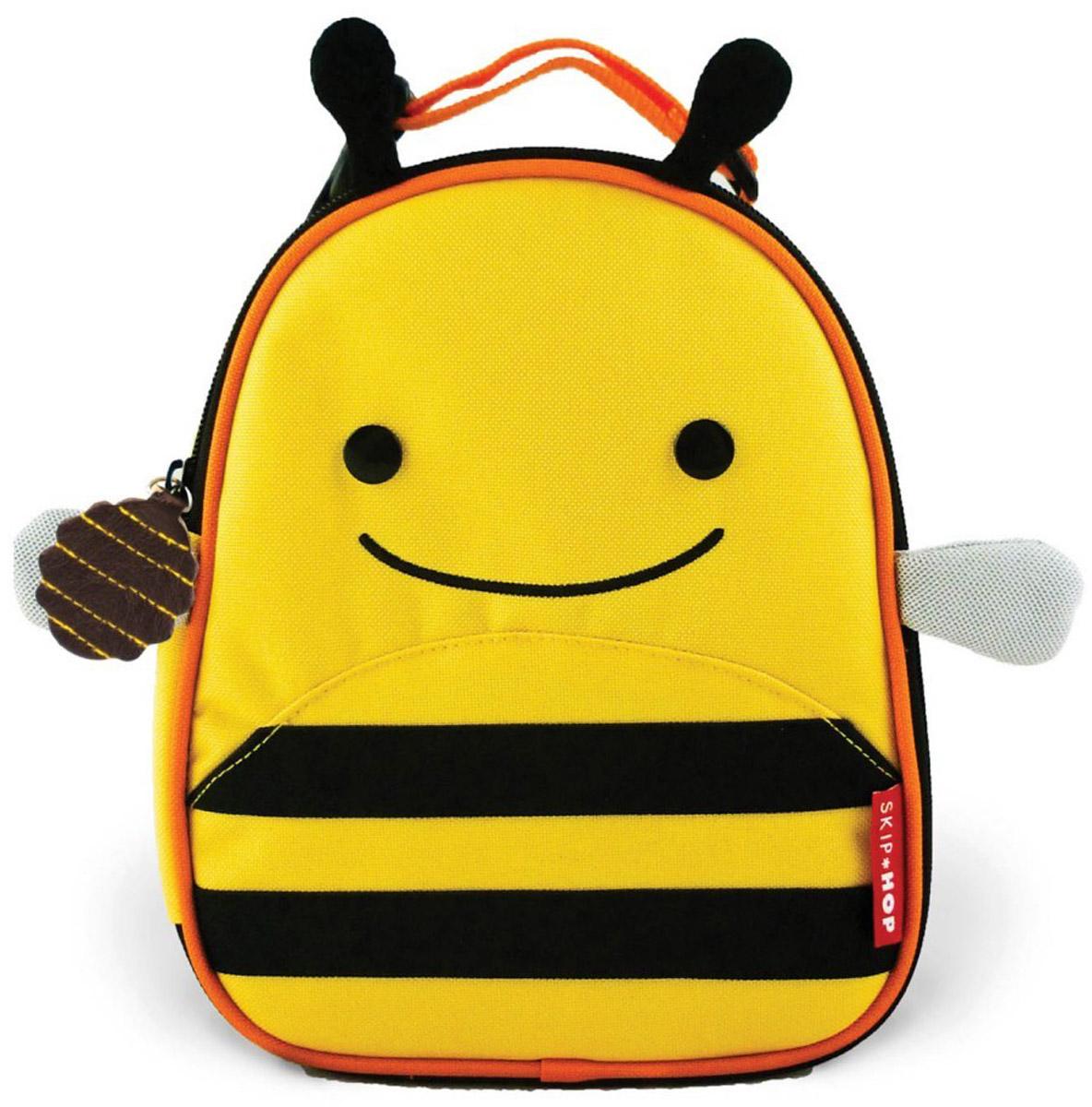 Skip Hop Сумка ланч-бокс детская Пчелка сумочка для ланч бокса детская skip hop божья коровка