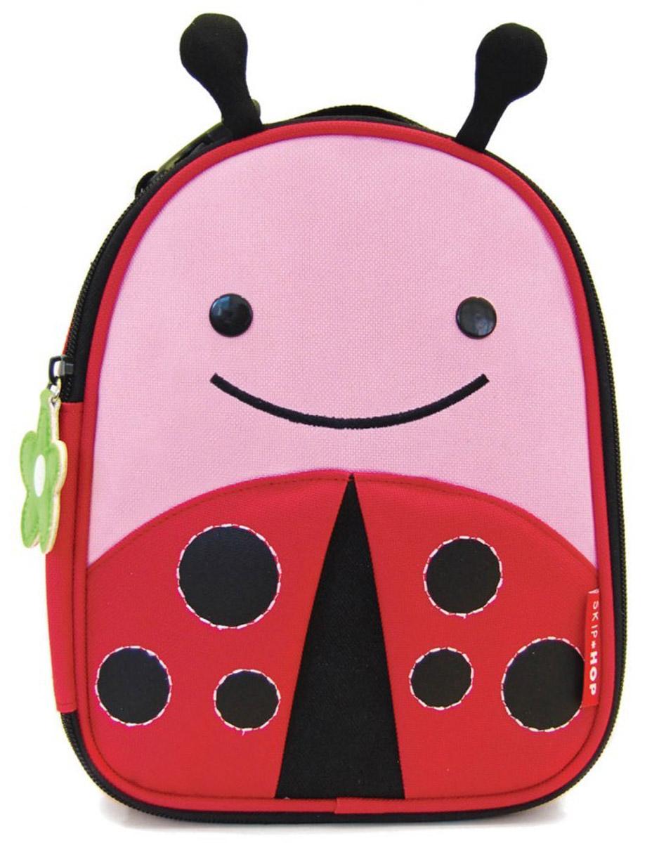 Skip Hop Сумка ланч-бокс детская Божья коровка сумочка для ланч бокса детская skip hop божья коровка