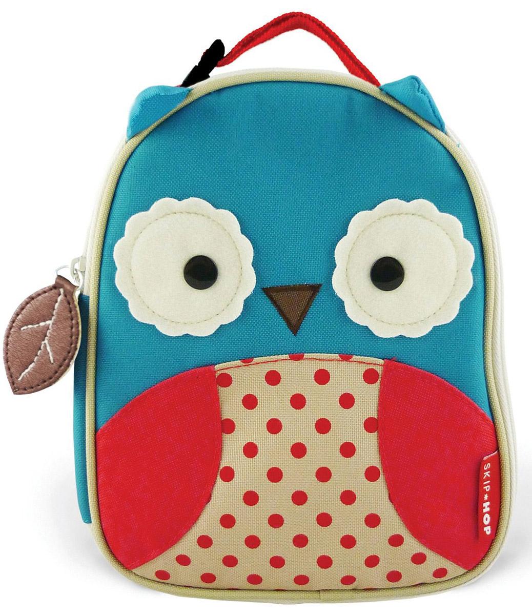 Skip Hop Сумка ланч-бокс детская Сова сумочка для ланч бокса детская skip hop божья коровка