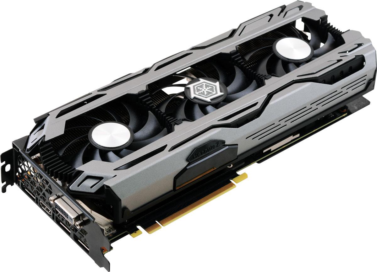 Видеокарта nVidia GeForce GTX1080 Inno3D iChill X3 PCI-E 8192Mb, C108V3-2SDN-P6DNX цена и фото