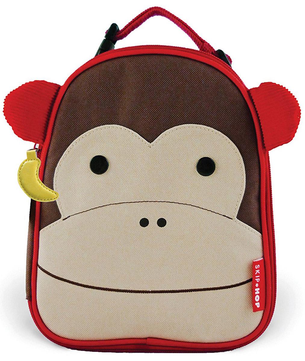 Skip Hop Сумка ланч-бокс детская Обезьяна сумочка для ланч бокса детская skip hop божья коровка