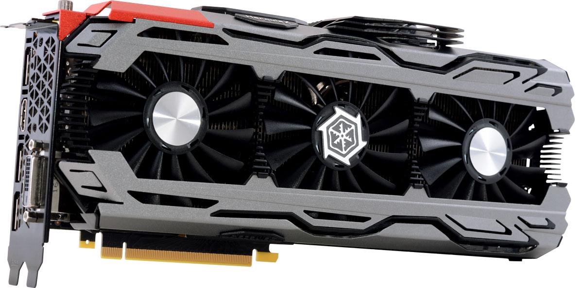 Видеокарта Inno3D GeForce GTX 1080 iChill X4 8GB, C108V4-2SDN-P6DNX цена и фото
