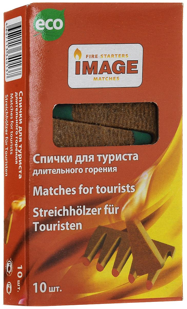 Спички длительного горения Image Турист, длина 5 см, 10 шт спички для угля grillkoff длина 9 см 20 шт