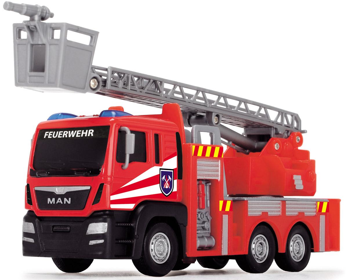 Dickie Toys Пожарная машинка Fire Engine цвет красный серый цены онлайн