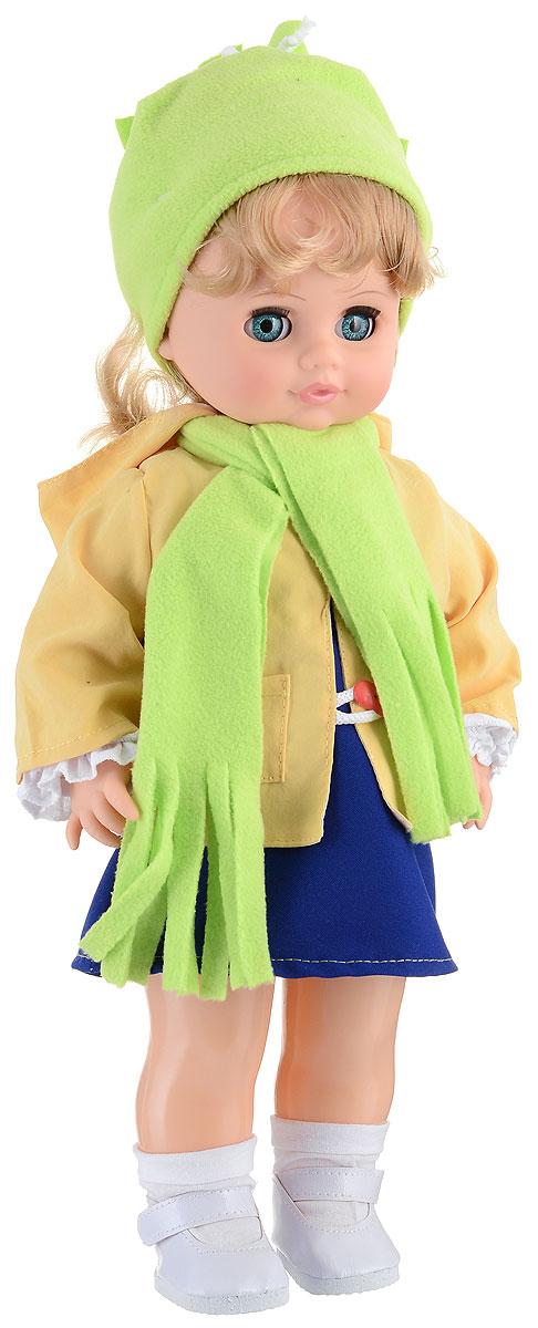 Весна Кукла озвученная Инна цвет одежды желтый синий салатовый