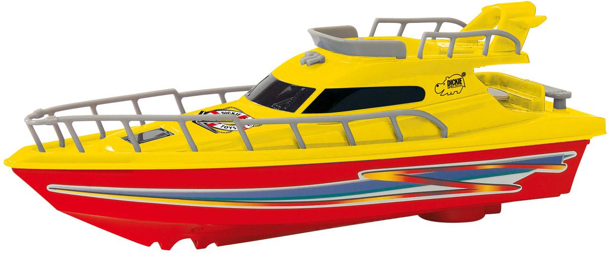 Dickie Toys Яхта Ocean Dream цвет красный желтый радиоуправляемые игрушки dickie