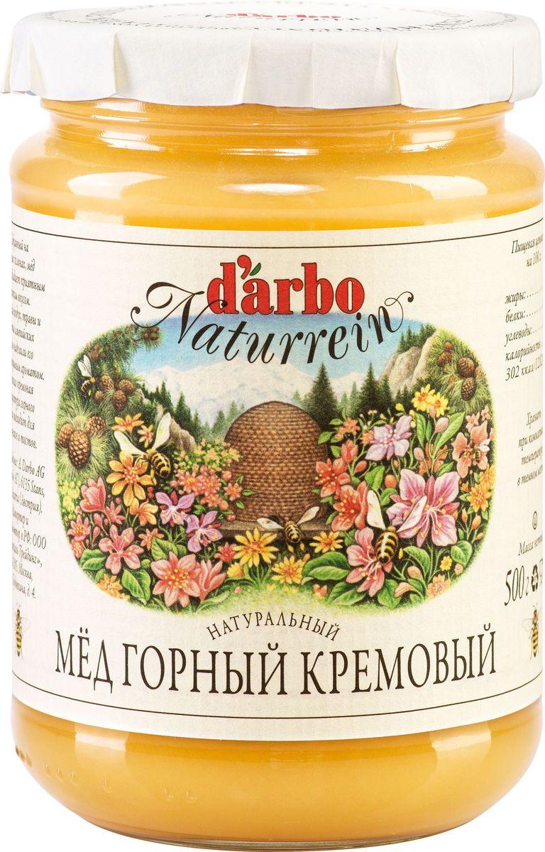 Darbo мед горный кремовый, 500 г берестов мед горный 500 г