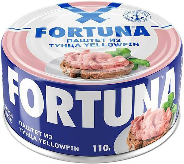 цена на Fortuna паштет из тунца, 110 г