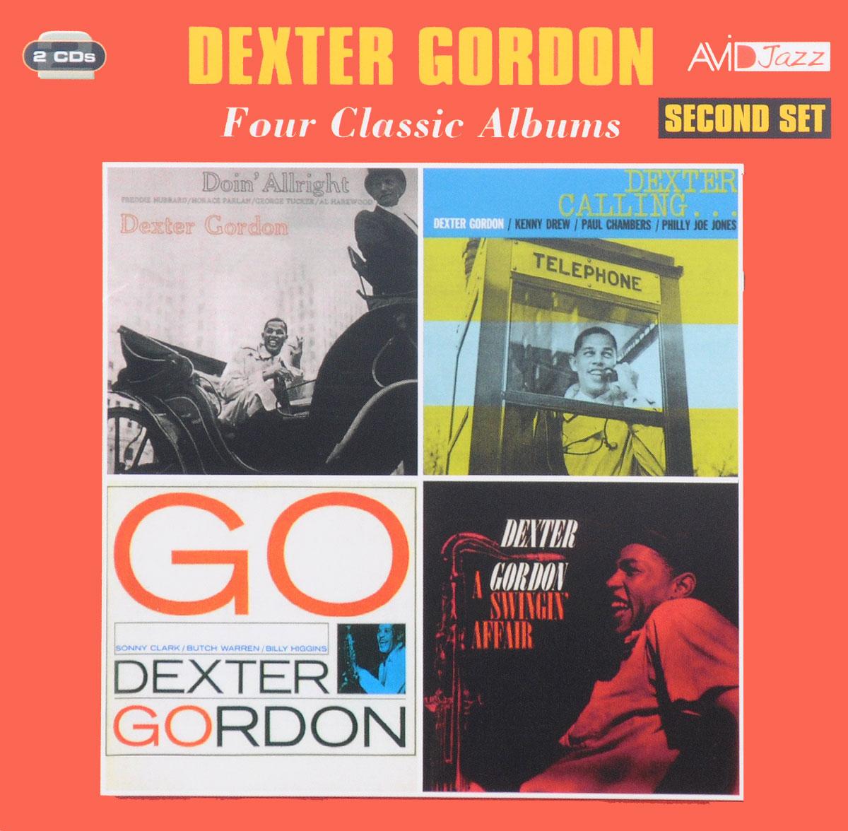 лучшая цена Декстер Гордон Avid Jazz. Dexter Gordon. Four Classic Albums. Second Set (2 CD)