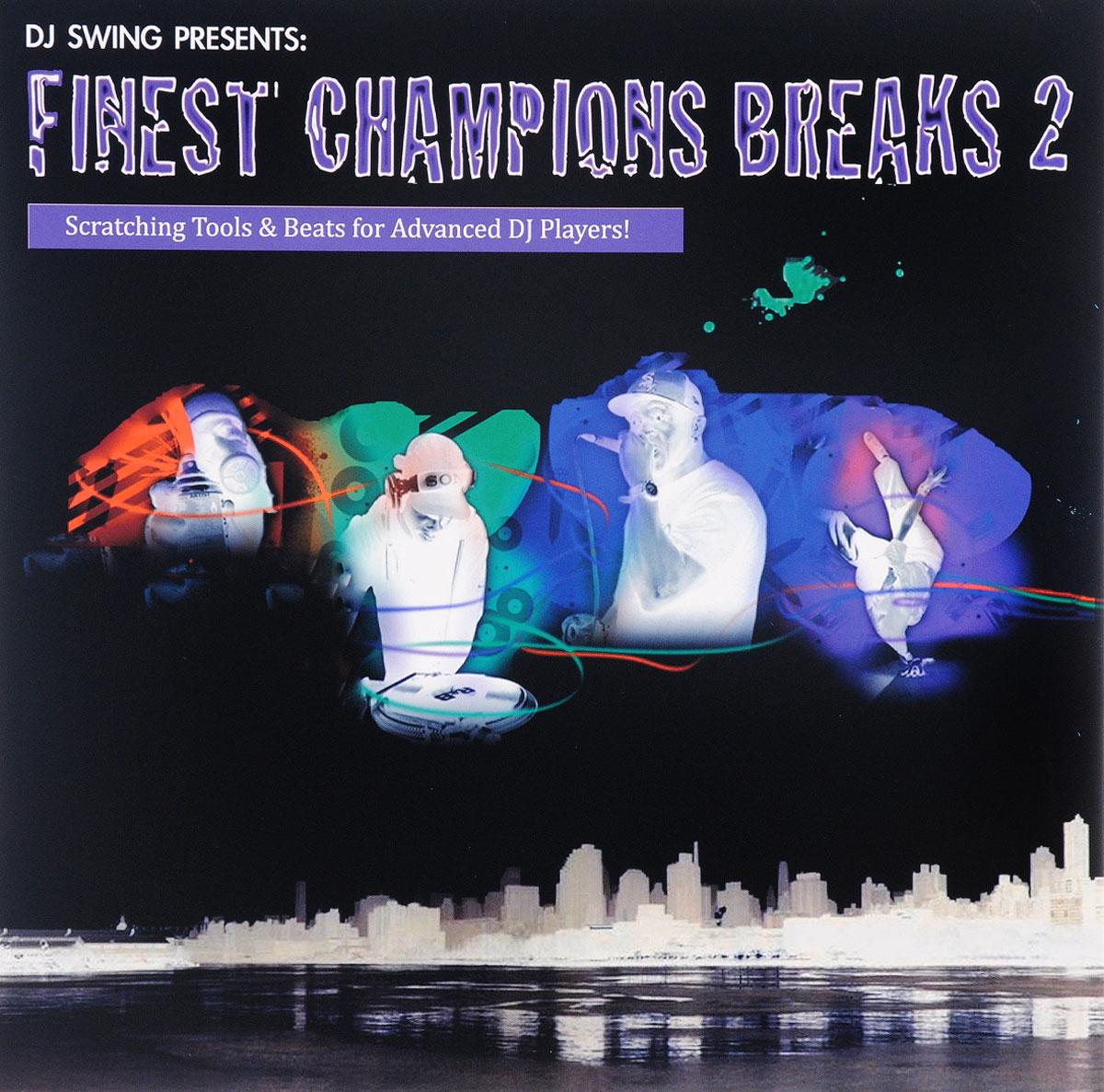 Фото - DJ Swing DJ Swing. DJ Swing Presents… Finest Champions Breaks 2 (LP) v neck belt plaid swing dress