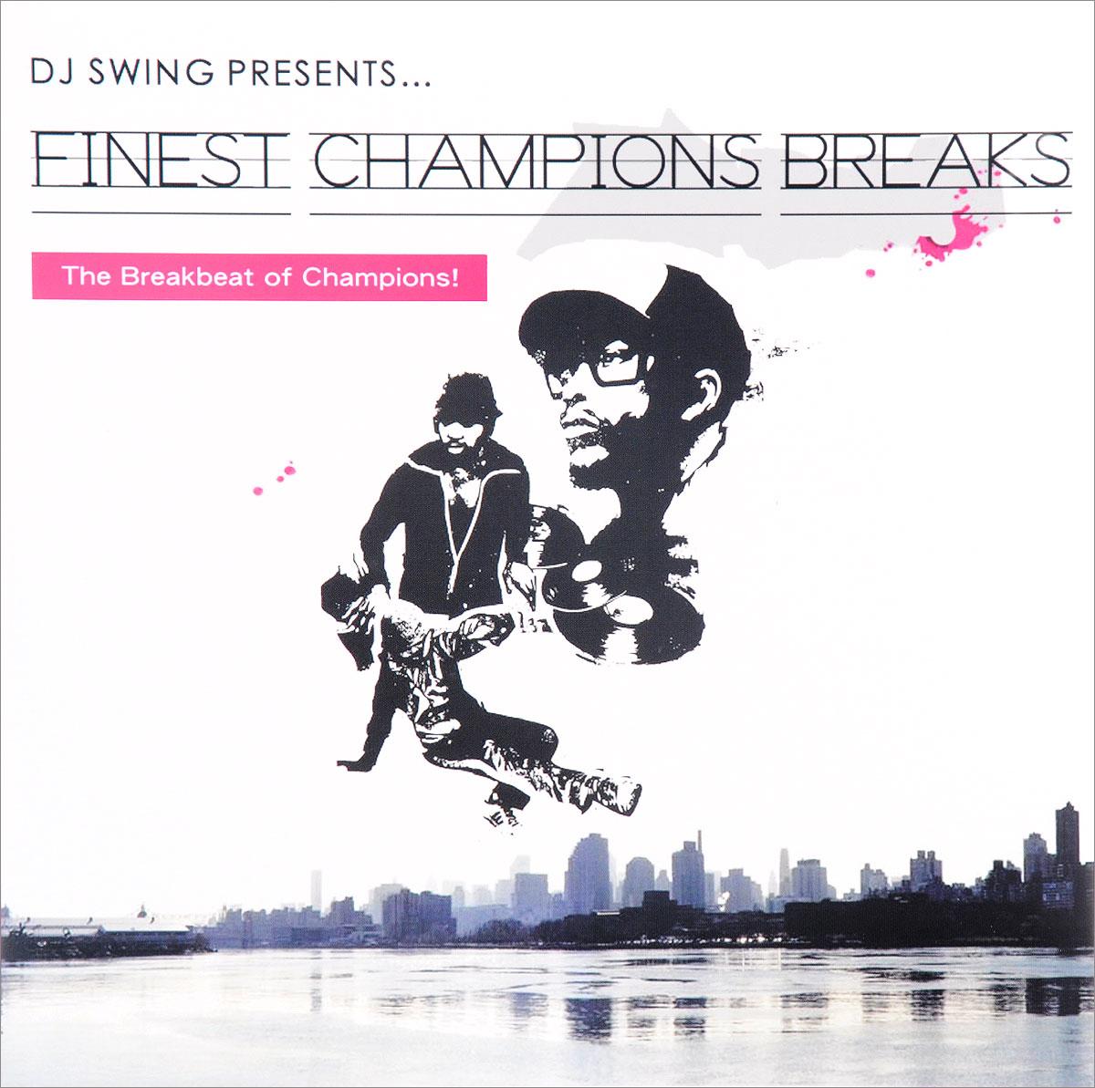 Фото - DJ Swing DJ Swing. DJ Swing Presents… Finest Champions Breaks (LP) v neck belt plaid swing dress