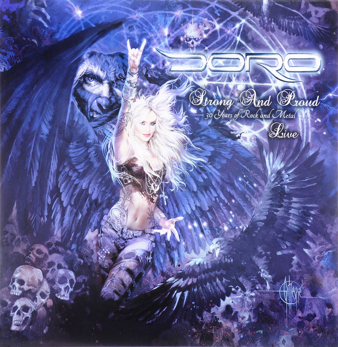 Doro Doro. Strong And Proud. 30 Years Of Rock And Metal. Live (2 LP) doro doro fur immer 2 lp picture disc