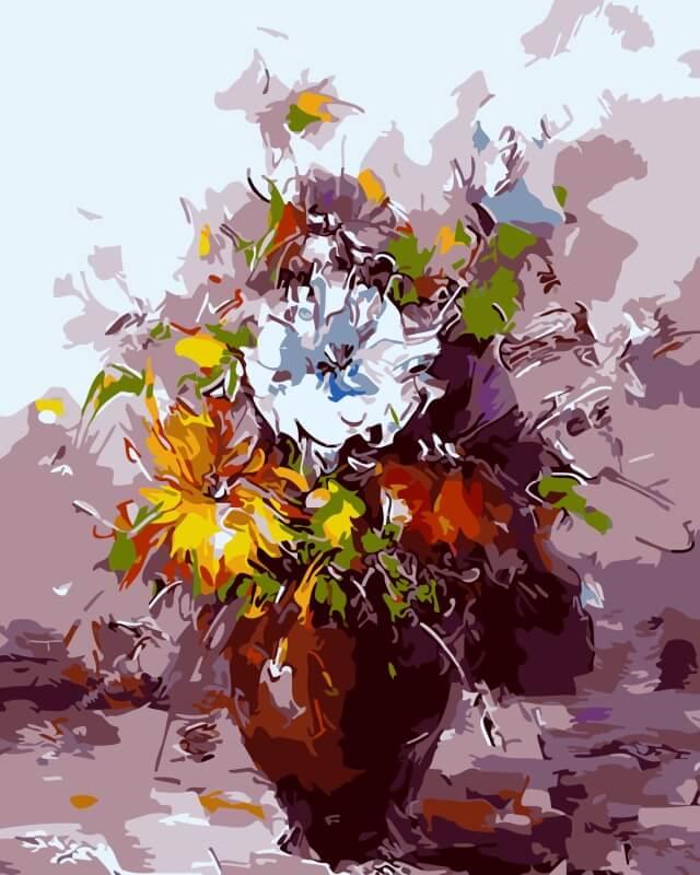 Набор для рисования по номерам Цветной В городской суете, 30 x 40 смME1017Набор для рисования по номерам Цветной поможет создать красивую картину. Подходит новичкам, любителям и даже тем, кто совершенно не умеет рисовать. С помощью такого набора вы можете стать настоящим художником и создателем прекрасных картин. Вы получите истинное удовольствие от погружения в процесс творчества, а созданные своими руками картины украсят интерьер вашего дома или станут прекрасным подарком. Техника раскрашивания на холсте по номерам дает возможность легко рисовать даже сложные сюжеты. Прекрасно развивает художественный вкус, аккуратность и внимание. Каждая краска в наборе имеет свой номер, соответствующий номеру области на холсте. Нужно только аккуратно нанести необходимую краску на отмеченный для нее участок. Таким образом, шаг за шагом у вас получится великолепная картина.Автор сюжета: Хосе Родригес. В набор входит: - хлопковый холст, натянутый на деревянный подрамник;- акриловые краски; - кисти для рисования; - крепежные петли для подвешивания картины; - контрольная схема рисунка; - трафарет с цифрами; - инструкция.