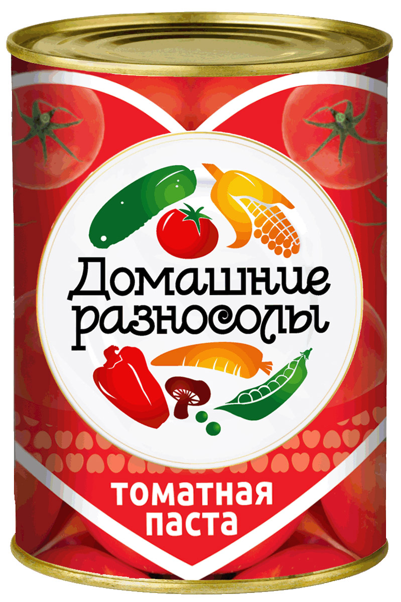 Домашние разносолы томатная паста, 380 г тони моли томатная