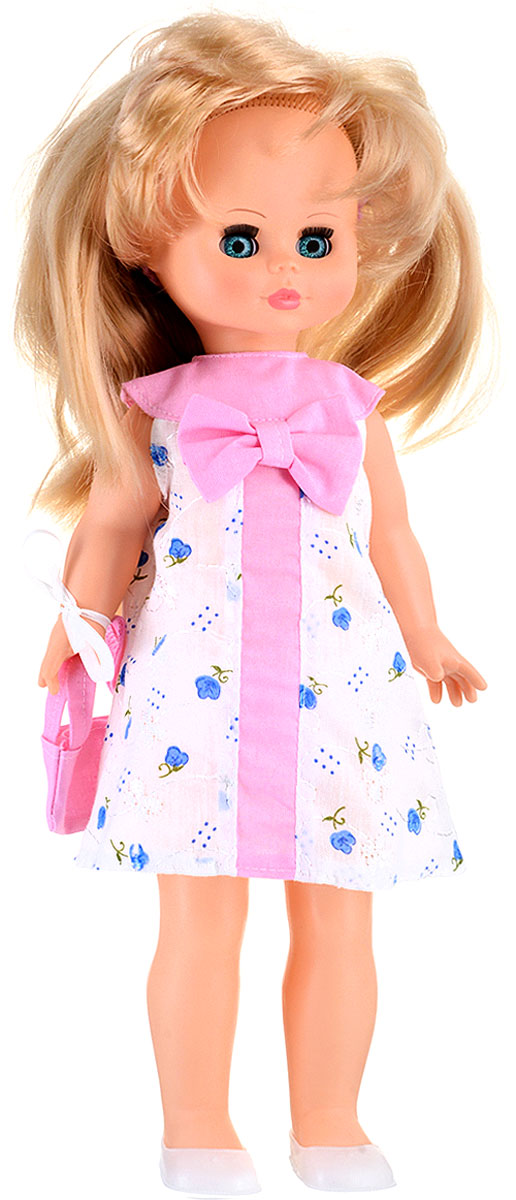 Весна Кукла озвученная Оля цвет одежды белый розовый голубой