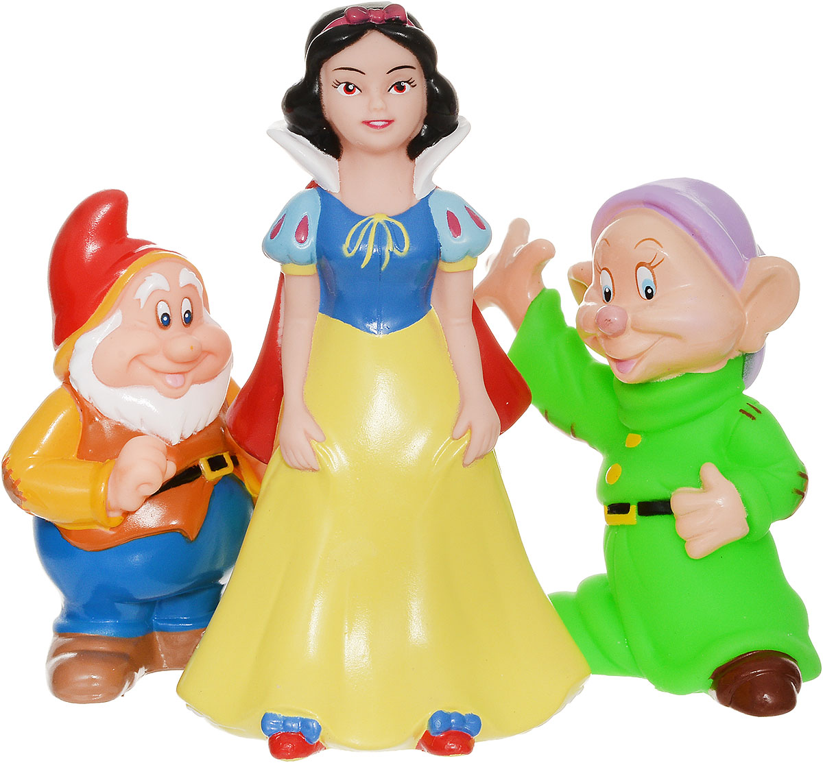 Играем вместе Набор игрушек для ванной Белоснежка и гномы 3 шт играем вместе набор игрушек для ванной белоснежка и гномы 3 шт