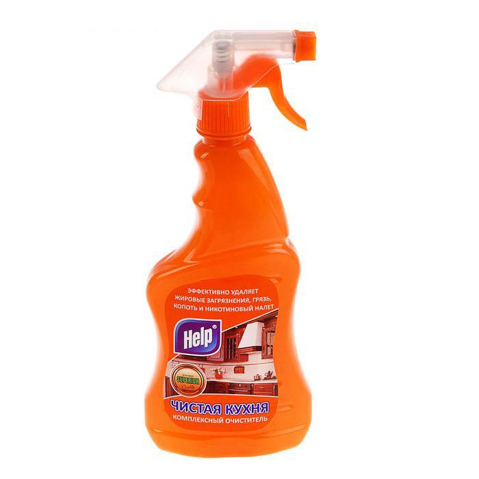 Чистящее средство Help Чистая кухня, 500 мл средство чистящее для ванных комнат dr frash чистая ванная морская свежесть 750 мл