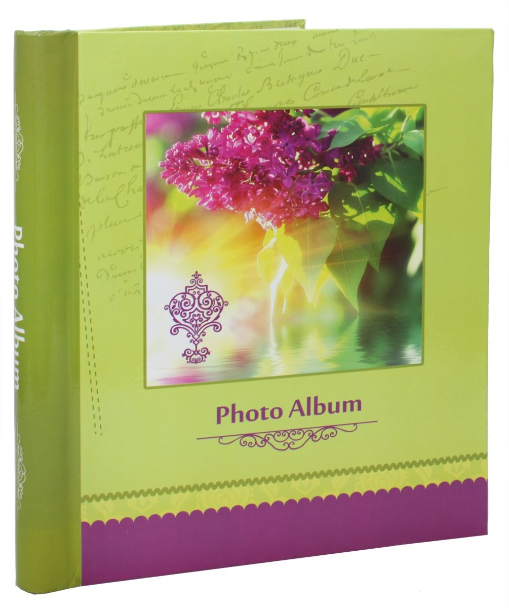 Фотоальбом Pioneer Spring Paints, 10 магнитных листов, 23 х 28 см, цвет: салатовый фотоальбом pioneer disney valentine 20 магнитных листов 29 х 32 см lm sa20bb c