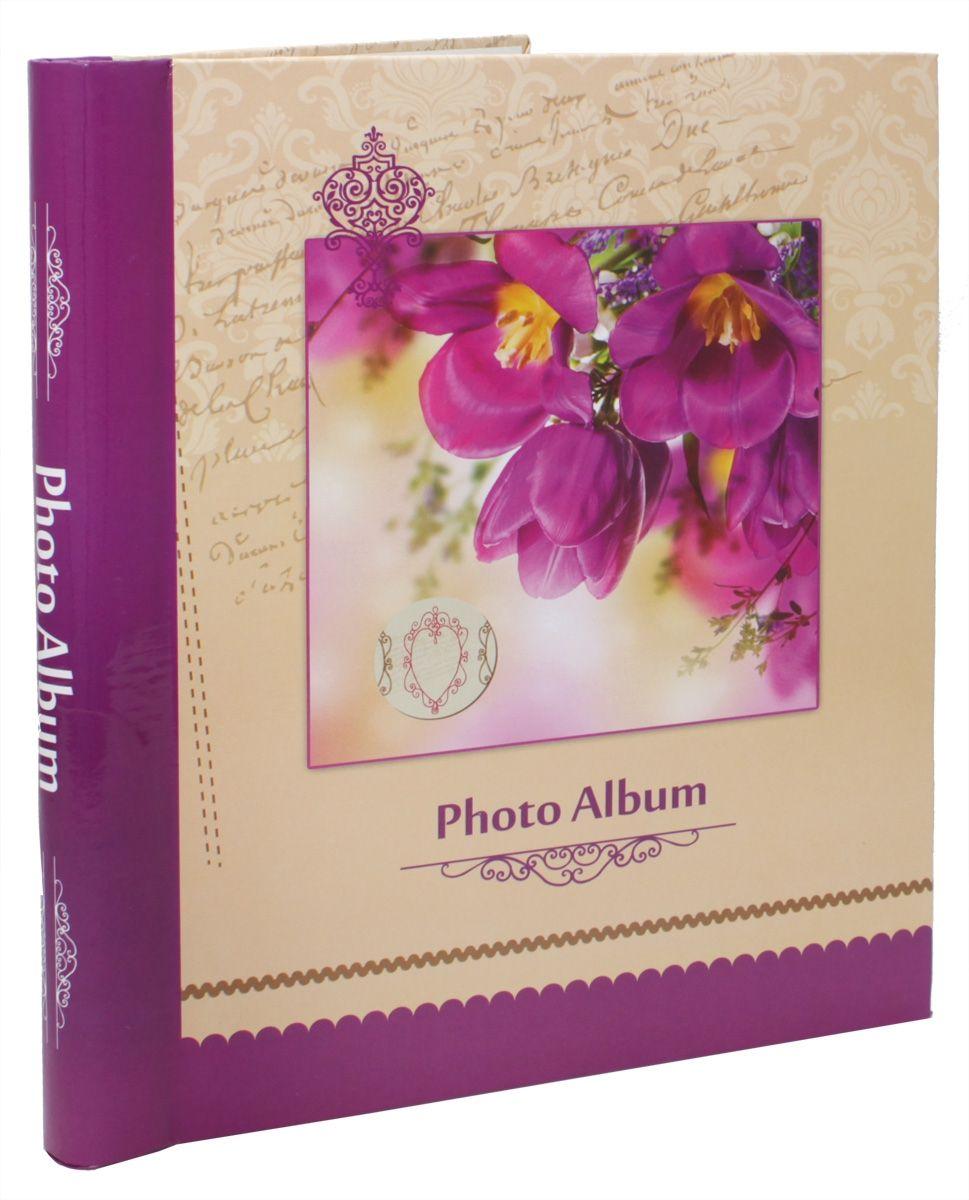 Фотоальбом Pioneer Spring Paints, 10 магнитных листов, 23 х 28 см, цвет: фиолетовый фотоальбом pioneer disney valentine 20 магнитных листов 29 х 32 см lm sa20bb c