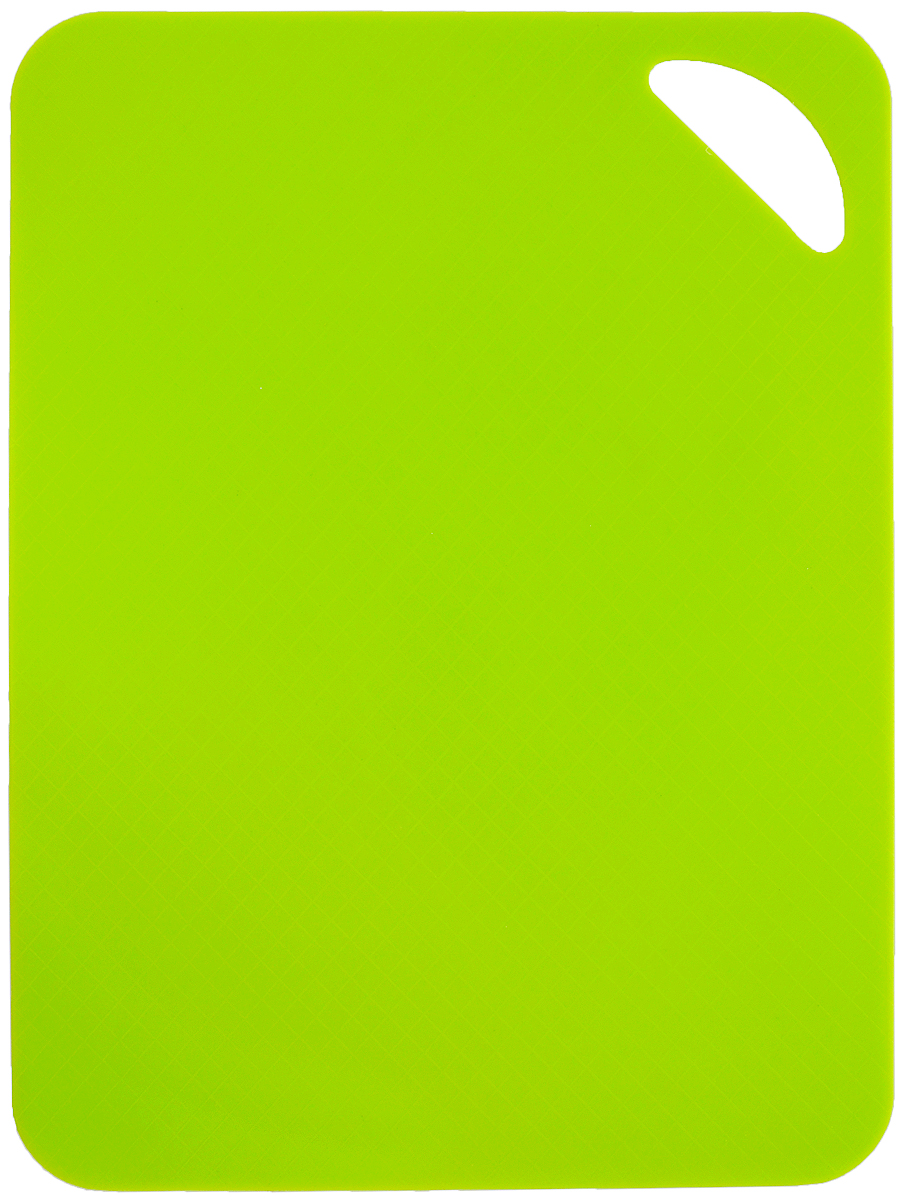 Доска разделочная Paterra, гибкая, цвет: зеленый, 28 х 38 см доска разделочная martika цвет зеленый 32 х 20 х 2 см 3 шт