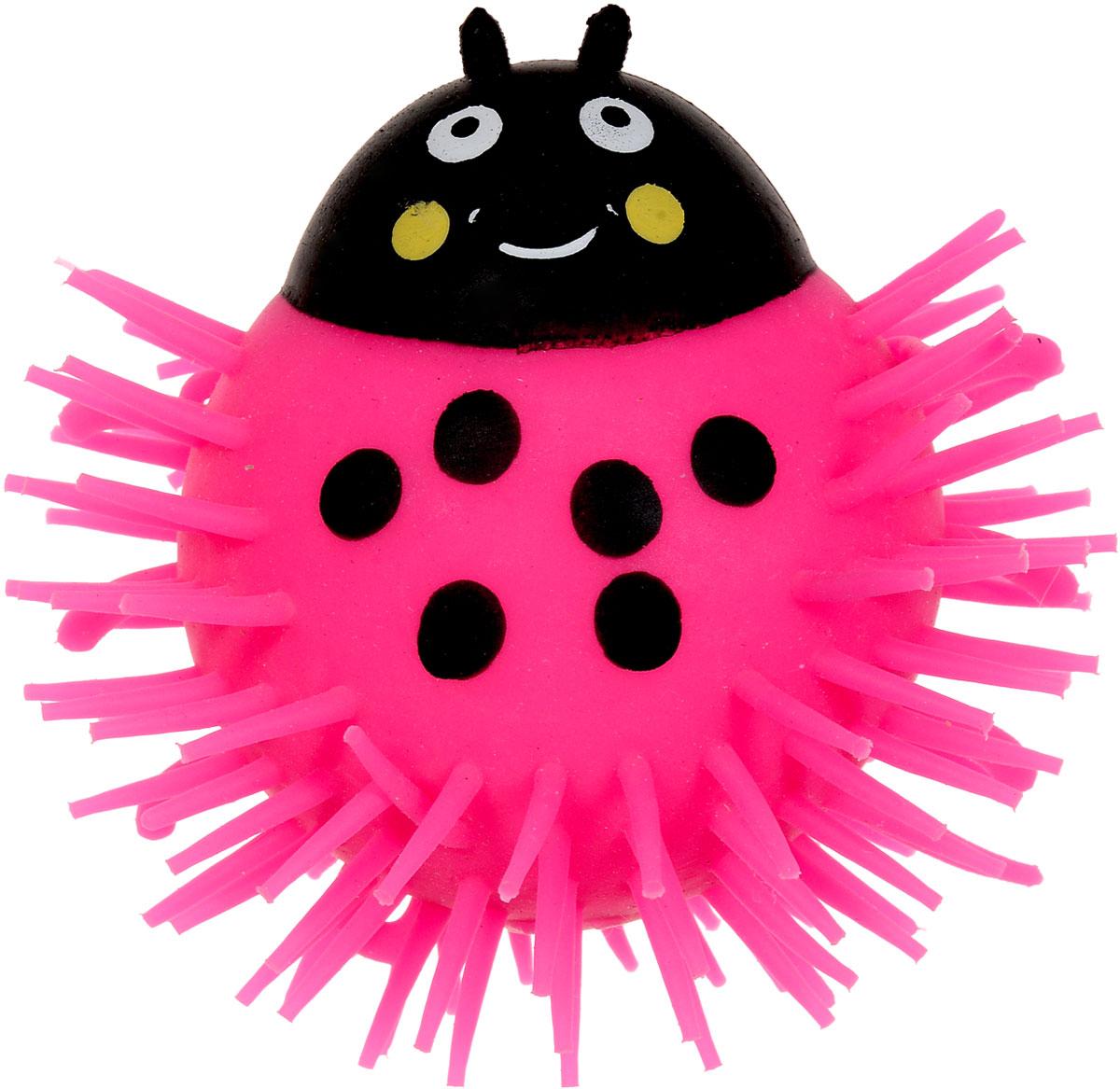1TOY Игрушка-антистресс Ё-Ёжик Жук цвет розовый 1toy игрушка антистресс ё ёжик животное цвет розовый