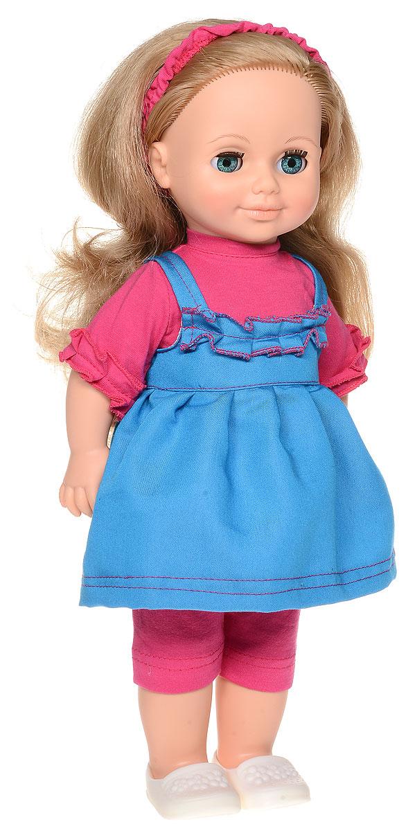 Весна Кукла озвученная Анна цвет наряда розовый синий
