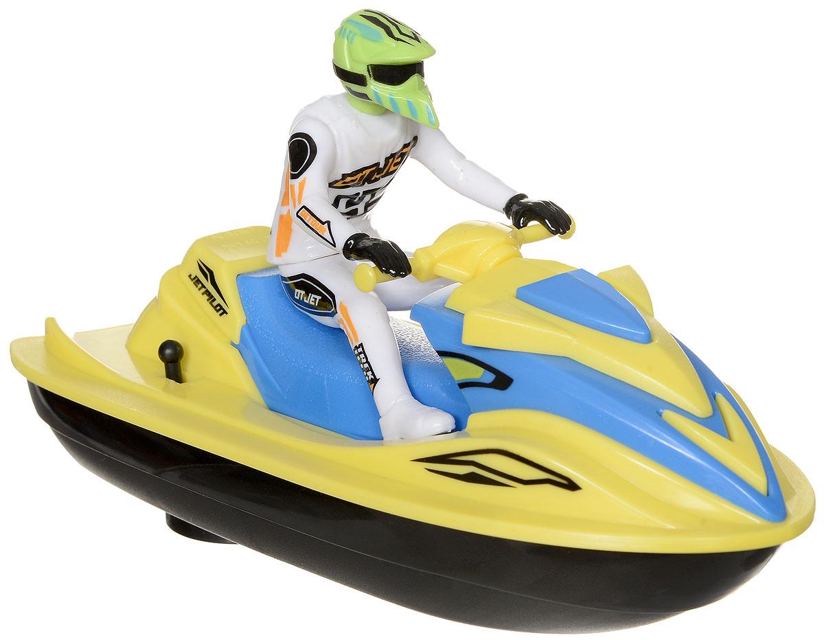 Dickie Toys Водный мотоцикл Sea Jet цвет желтый белый управление старинных мотоциклов модель фигурка железа мотоцикл мальчик игрушка дом декор
