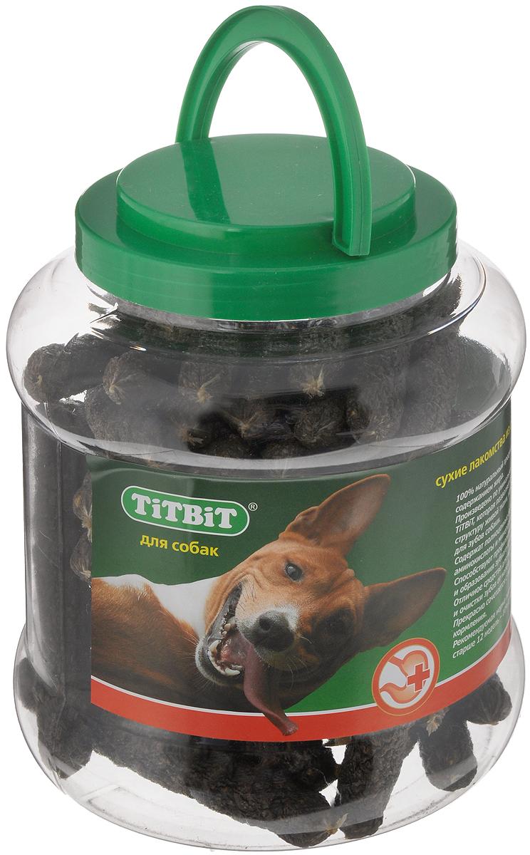 Лакомство для собак Titbit Колбаски, 4,3 л лакомство для собак titbit голень баранья 2 шт