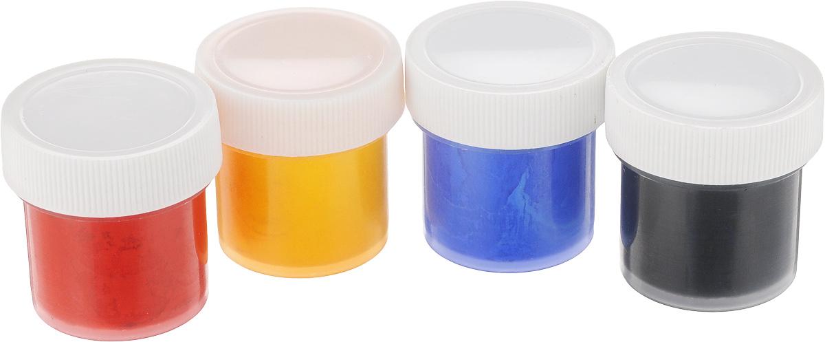 """Набор акриловых красок для ткани """"Olki"""", 4 цвета"""