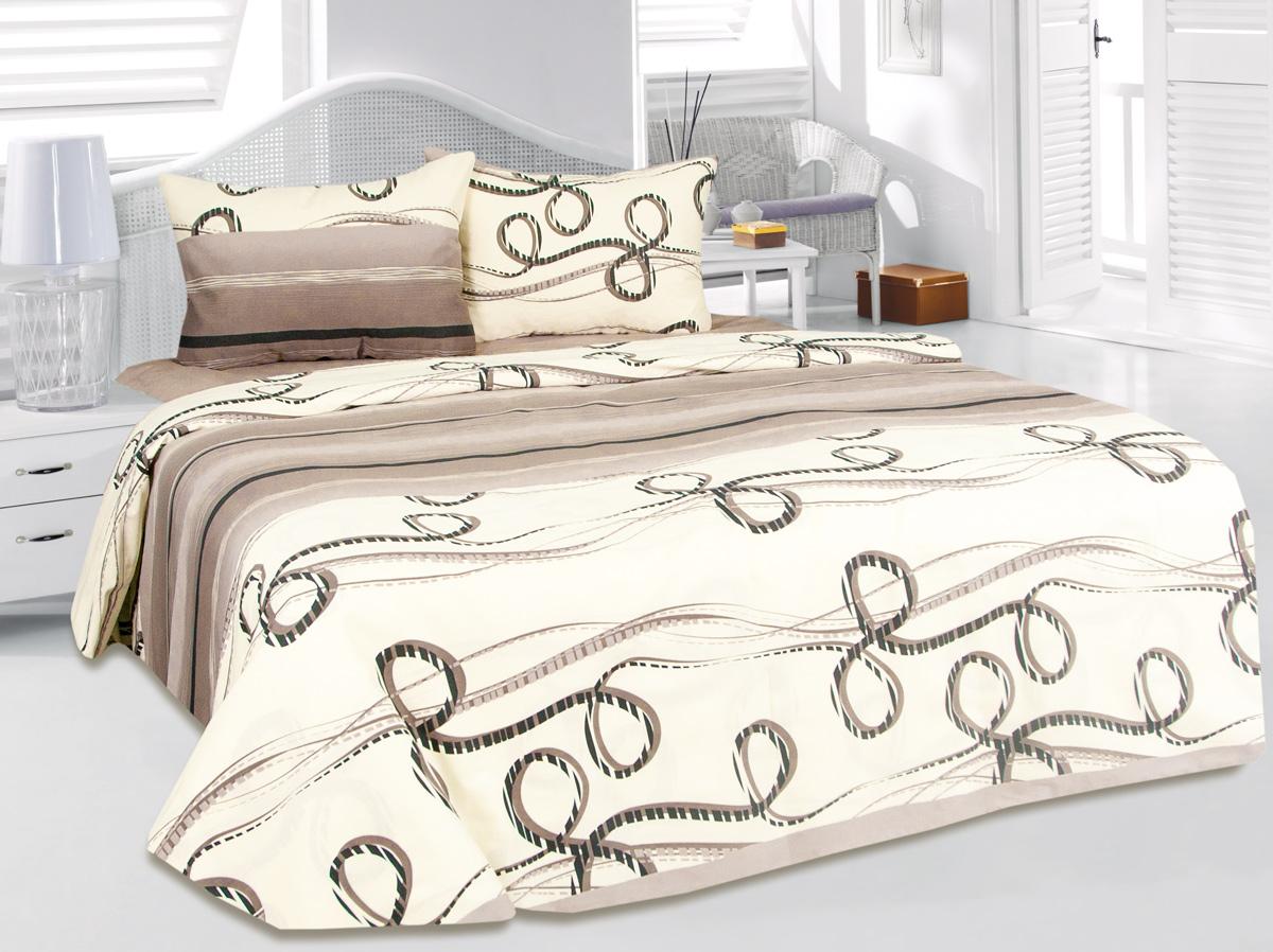 Комплект белья Tete-a-Tete Афрос, 2-спальный, наволочки 50x70 комплект белья tete a tete алекто 2 спальный наволочки 50x70