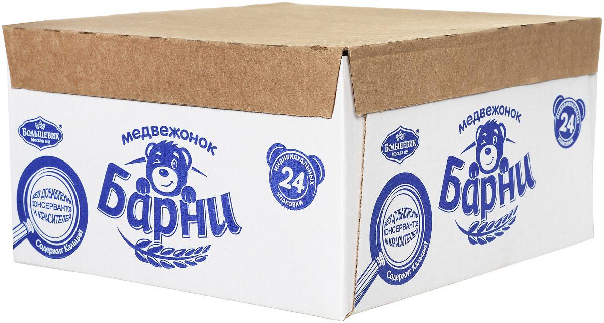 Медвежонок Барни Пирожное с шоколадом, 24 шт по 30 г цена и фото