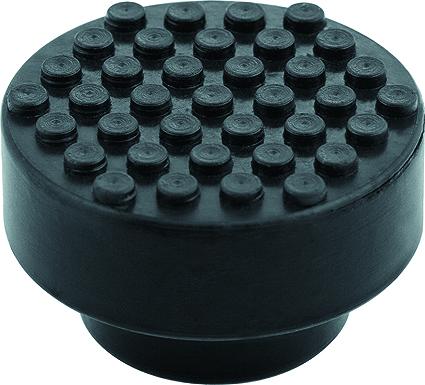 Опора резиновая для подкатного домкрата Matrix, диаметр 50 мм опора matrix 50901