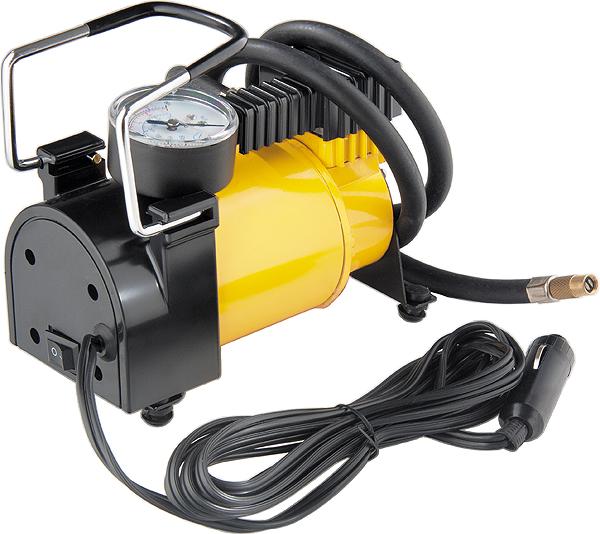 Автомобильный компрессор Denzel DС-20, 12 В, 7 атм, 35 л/мин компрессор автомобильный skybear 211010 поршневой 12 в 10 атм 35 л мин