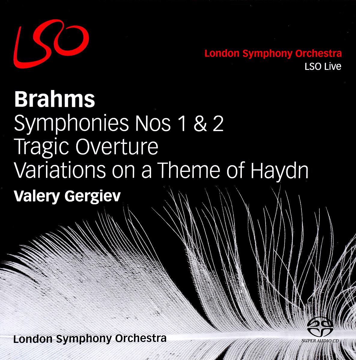 Valery Gergiev. Brahms. Sinfonien 1 & 2 / Tragische Ouverture. Variations On A Theme Haydn (2 CD) цены