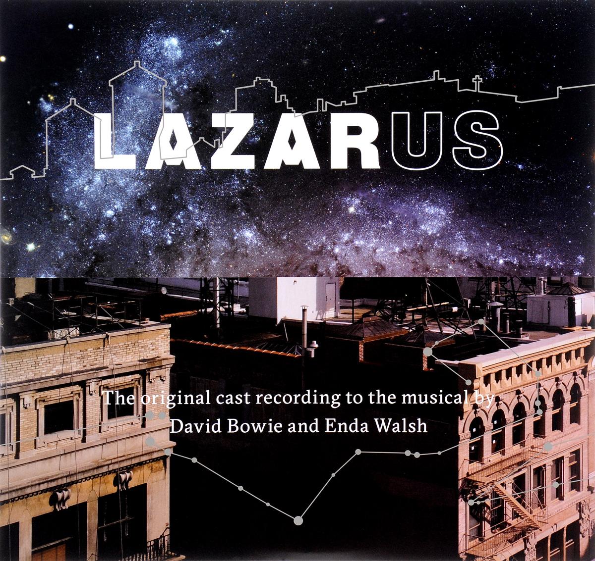 Дэвид Боуи David Bowie And Enda Walsh. Lazarus (3 LP)