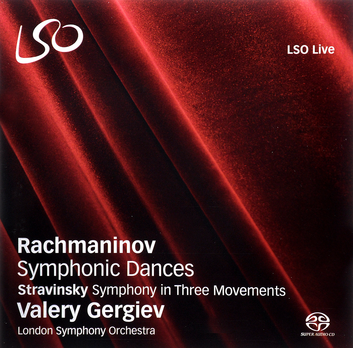 Valery Gergiev. Rachmaninov. Symphonic Dances / Strawinsky. Symphony in Three Movements valery gergiev rachmaninov symphonic dances strawinsky symphony in three movements