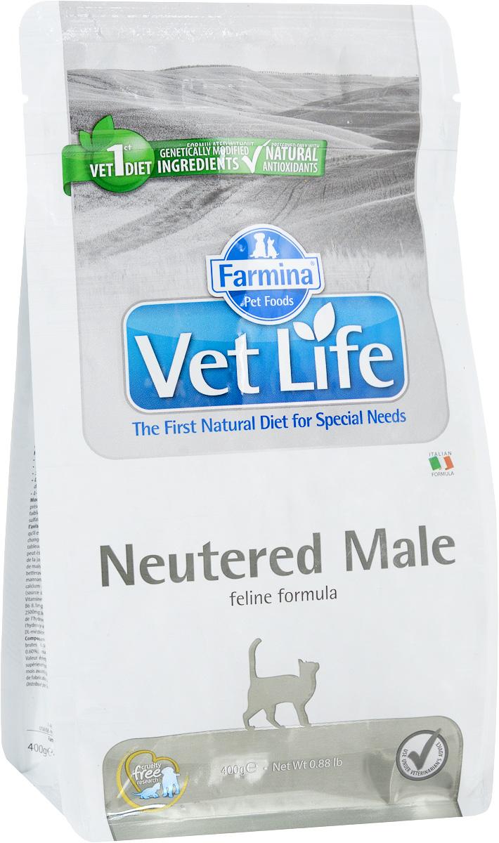 Корм сухой Farmina Vet Life для взрослых кастрированных котов, диетический, 400 г25319Сухой корм Farmina Vet Life - это диетическое полнорационное и сбалансированное питание для взрослых кастрированных котов. Сниженная энергетическая плотность продукта ограничивает риск развития ожирения. Высокая биологическая ценность белков и L-карнитин способствуют поддержанию мышечной массы и использованию запасов жиров. Низкое содержание углеводов снижает вероятность развития диабета. Низкое содержание фосфора и магния, а также сульфат кальция снижают риск развития мочекаменной болезни. Товар сертифицирован.