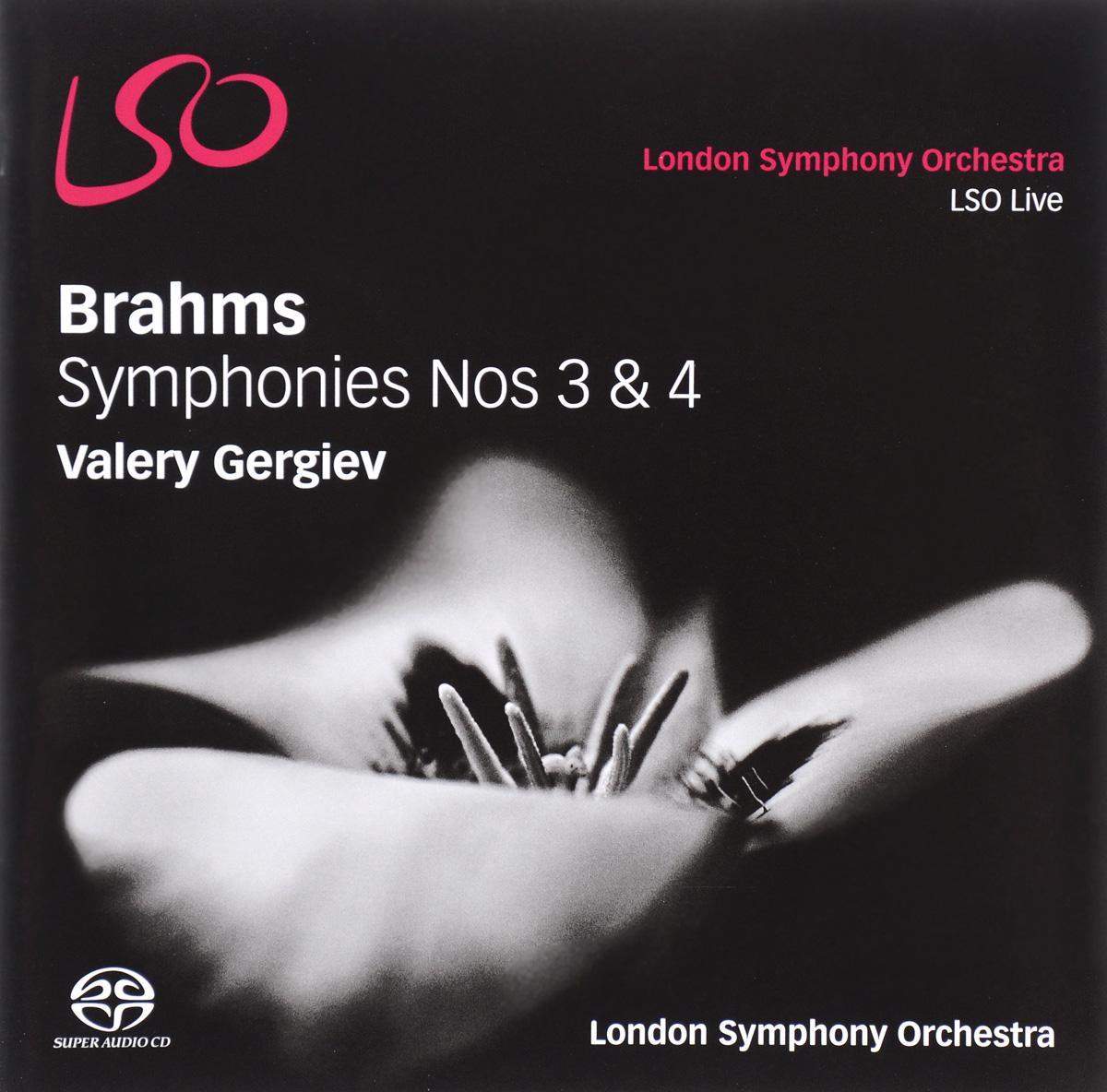 лучшая цена Валерий Гергиев Valery Gergiev. Brahms. Symphonies Nos 3 & 4