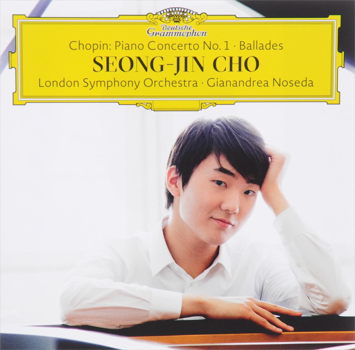 Сон Чжин Чо Seong-Jin Cho. Chopin: Piano Concerto №1: Ballades chopin chopincho seong jin piano concerto no 1 ballades 2 lp