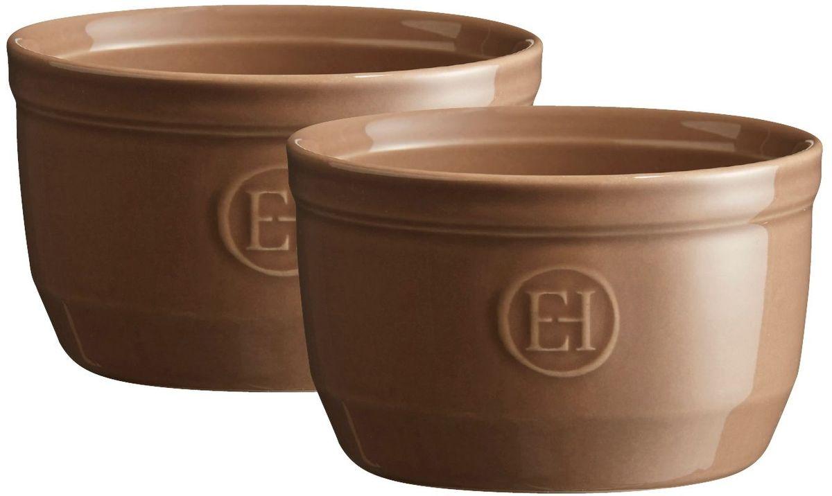 """Рамекин """"Emile Henry"""", цвет: мускат, диаметр 10,5 см, 2 шт"""