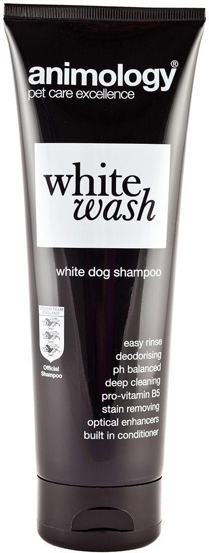"Шампунь концентрированный Animology ""White Wash"", для белой шерсти, 250 мл"