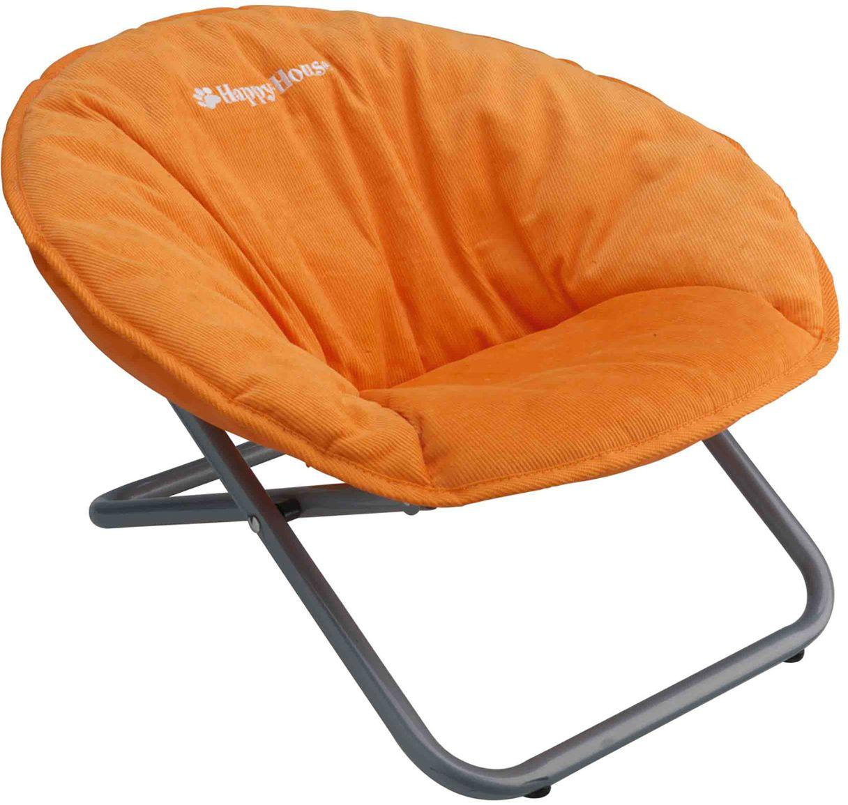 Стул для животных Happy House New Classic, цвет: оранжевый, 55 х 51 х 36 см teak house стул buton